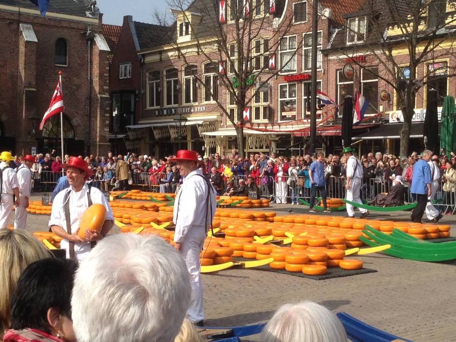 Holland: Cheese andTulips