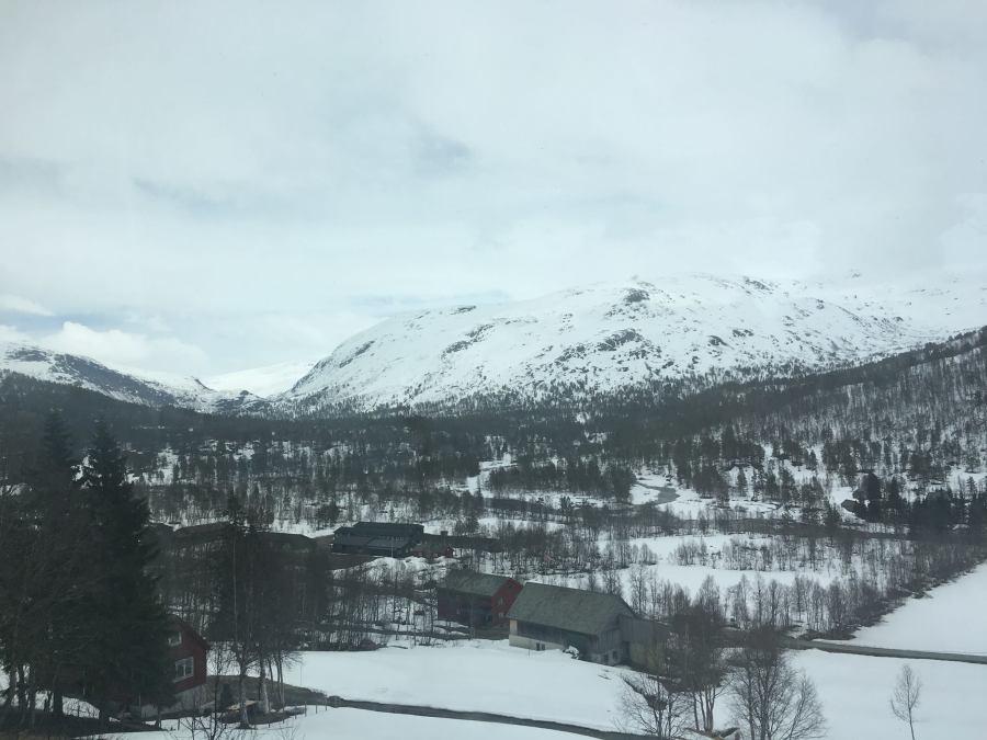 Norway: Train Ride toOslo